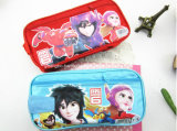 2016 Newest School Canvas Printing Pencil Case for Kids