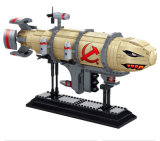 14881017-795PCS Red Alert 3 Soviet Kirov Spaceship Toy Building Blocks Games Brick Educational Military Model Toys Plane Gift
