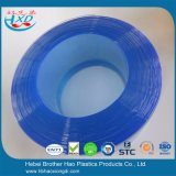 Clear Blue Anti-Static PVC Strip Curtain Flat/ Ribbed and Nylon Reinforced Sheet