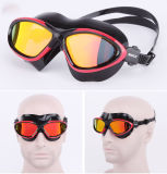 Mirrored Anti Fog UV Protection Wide View Swim Goggle (mm-7403)