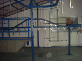 Automatic Spray Pretreatment System Powder Coating Line