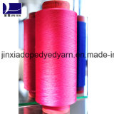 400d/96f DTY Dope Dyed Filament Yarn Polyester Yarn