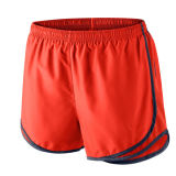 Men Sports Wear Polyester Training Running Shorts with Piping