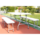 6FT Folding in Half Table Outdoor Used