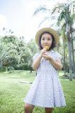 100% Cotton Children′s Apparel Flower Girl Dress