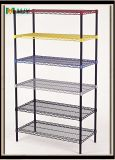 Coloured Wire Shelving