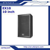 10 Inch Audio Loud Speaker Box for Multi Function Room (EX10 - TACT)