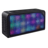 Bluetooth Speakers Hi-Fi Portable Wireless Stereo Speaker with 7 LED
