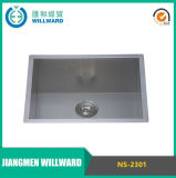 Modern Ns-2301 Handmade R0 Kitchen Stainless Steel Sink