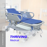 Thr-111 Hospital Luxurious Rise-and-Fall Transfer Stretcher