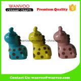 Colorful Animal Shape Design Ceramic House Decoration for Saving Money