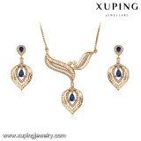 64252 New Arrival Fashion Luxury Gemstone Jewelry Wedding Set