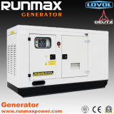 20kVA-180kVA Super Silent Lovol Power Electric Diesel Generator Set/Generating Set (RM128L2)