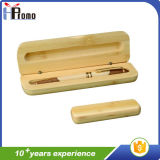 Promition Gift Bamboo Pen Box with Pen