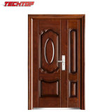 TPS-047sm Cheap Security Steel Interior Doorson and Mother Door Steel Door