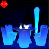 Dinner Table with LED Lights Color Changing Furniture