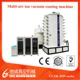 Cczk Stainless Steel Metal Logo Tin Gold, Rosegold, Black, Blue PVD Arc Ion Coating Machine