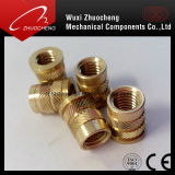 Special Brass Insert Milled Nuts with ISO Certification