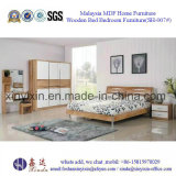 Customized Home Furniture Oak Color Modern Bedroom Furniture (SH-007#)