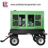 200kw/250kVA Four Wheels Volvo Engine Powered Trailer Diesel Generator Set