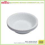 Party Serving White Color Paper Likely Melamine Salad Bowl