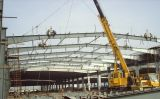 Beautiful Steel Structure Workshop Shed for Car Park