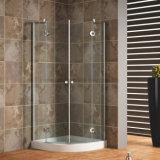 8mm/10mm/12mm Tempered Glass Arc Frameless Shower Enclosure