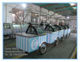 Italian Ice Cream Trolleys / Gelato Carts (CE Approved)