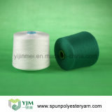 Ne60s/2 Raw Pattern Poly Spun Yarn for Sewing