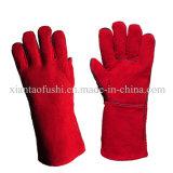 Cow Split Leather Welding Working Gloves