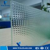 Clear Tempered Fylfot Patterned/Figured/Laminated/Acid Etched/Reflective/Ceramic Glass for Bathroom Glass