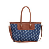 Denim Woman Shopping Bag Designer Fashion Handbag (MBNO039015)