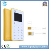 Colorful Ultra Thin X6 Mini Card Phone with Arabic Keypad