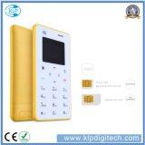 New Colorful Ultra Thin Card Phone X6 Mini Card Phone 4.8mm with Arabic Keypad Pocket Credit Card Phone