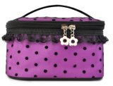 Lady Cosmetic Bags with Voile Lace Fly- MB00109