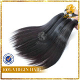 6A Grade Factory Price 100% Peruvian Virgin Remy Human Hair Straight Weft Extension