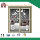 G&C Fuson 2.0mm Thick Aluminum Two Rails Sliding Door