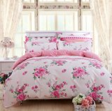 Warm Quilt Cover Bed Sheets Home Textile 4PCS Bedding Sets