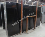 Chinese Black Stone Black Granite Marble Slab