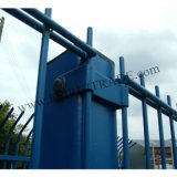 Galvanized Double Wire Fencing / PVC Coated Twin Wire Fencing (ISO9001: 2008)