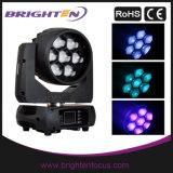 7X40W 4-in-1 RGBW LED Wash Head Zoom DJ Light