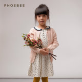 Phoebee Wholesale 100% Cotton Kids Knitting/Knitted Clothes for Girls