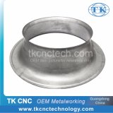 Aluminium Sheet Metal Industrial Fan Shield / Cover Customized by Pressing, CNC Spinning