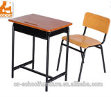 Metal Wood School Table and Chair of Classroom Furniture