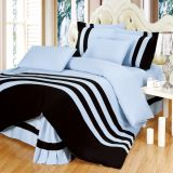 2017 Textile 100% Cotton High Quality Bedding Set for Home/Hotel Comforter Duvet Cover Bedding Set