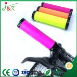 Colorful Rubber Handle Grips for Bikes and Motorbikes