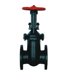 Cast Iron Metal Seat Outside Wedged Gate Valve