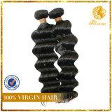 6A Grade 100% Peruvian Virgin Remy Human Hair Deep Wave Weft Hair Extension