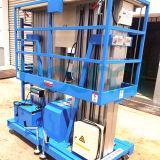 Double Mast Aerial Man Lift Aluminum Alloy Hydraulic Lift Table