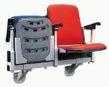 2014 Blow Molded Folding Chair with Cushion for Stadium (CS-ZZY-RC)
